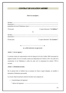 Fonds De Commerce Contrat De Cession Modele De Contrat