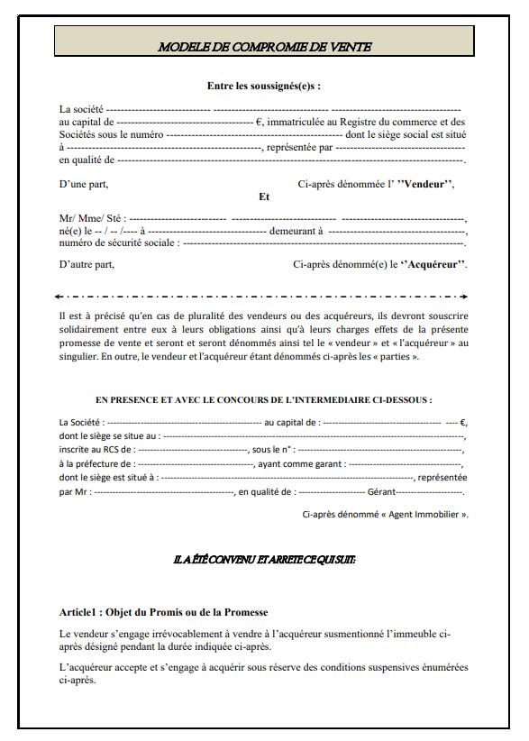 Modeles De Contrat En Format Word Gratuit Modele De Contrat