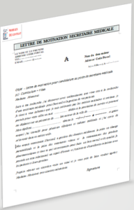Lettre de motivation secrétaire médicale