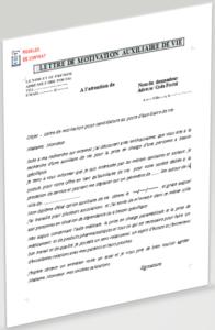 lettre de motivation auxiliaire de vie
